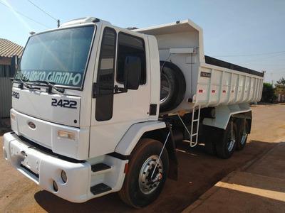 Cargo 2422/05 Branco 6x2 Caçamba