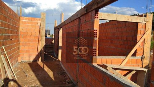Imagem 1 de 10 de Casa Com 2 Dormitórios À Venda, 50 M² Por R$ 170.000,00 - Loteamento Jardins - Palhoça/sc - Ca0583