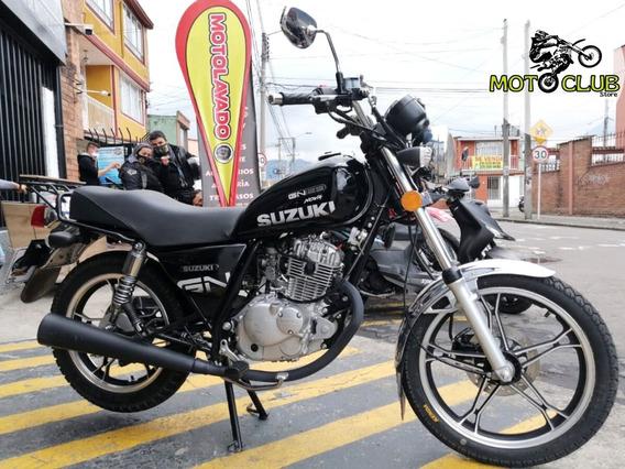 Suzuki Gn 125 Modelo 2019