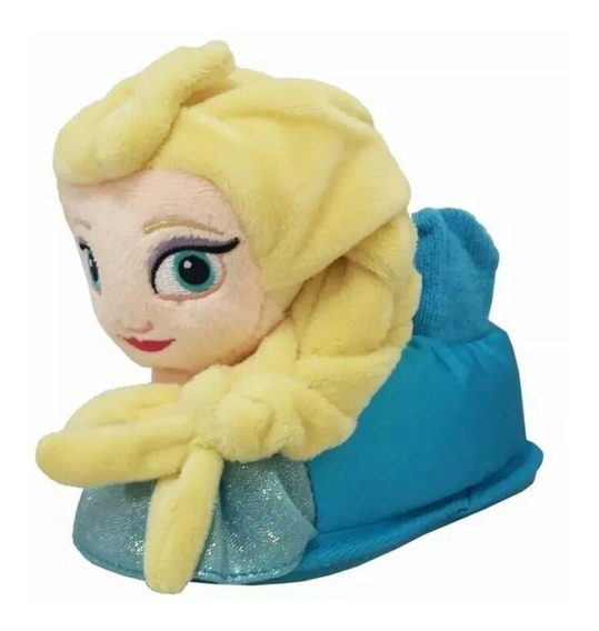 Pantufla Addnice Frozen Peluche Disney Suela Goma Antides Ps