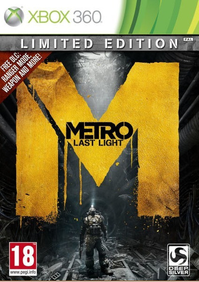 Game Xbox 360 Metro Last Light - Original - Novo - Lacrado