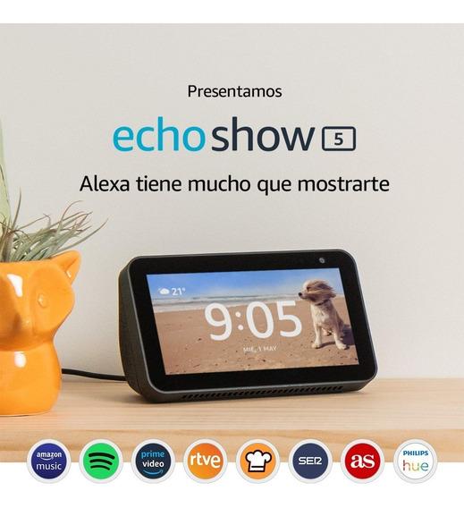 Echo Show 5: Una Pantalla Inteligente Y Compacta Con Alexa