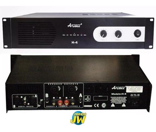 Apogee H4 Potencia Amplificador 150w X 2 En 4ohms 300w