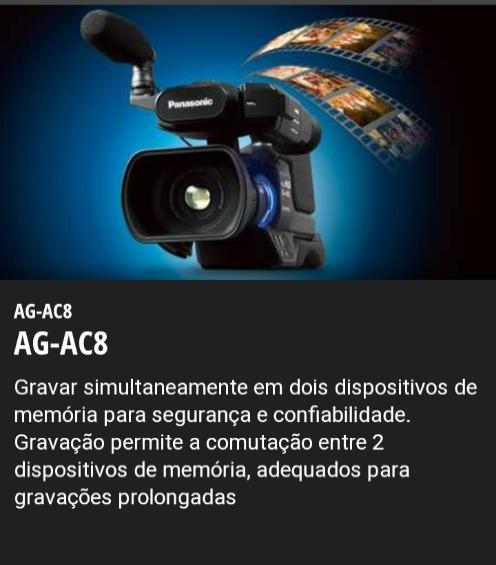 Câmera Panasonic Ac Ac8