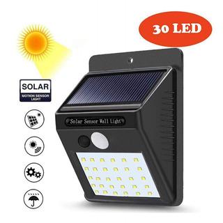 Foco Solar 30 Led Con Sensor De Movimiento