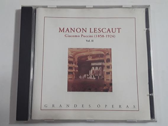 Grandes Óperas Giacomo Puccini Manon Lescaut Vol. 2