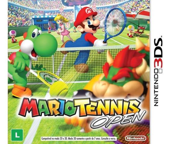 Mario Tennis Open 3ds ! Semi Novo! M. Física!