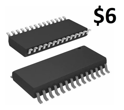 Microcontrolador Pic18f2550-i/so, Smd, 28-soic