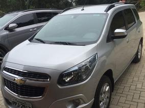 Chevrolet, Spin, 1.8 Ltz, Autom, 7 Lugares, Banco De Couro