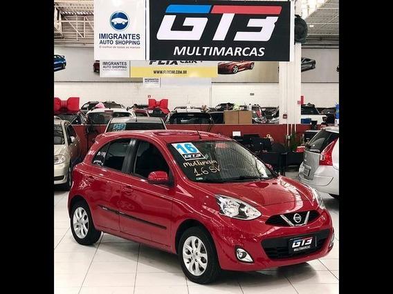 Nissan March 1.6 Sv 16v 2016