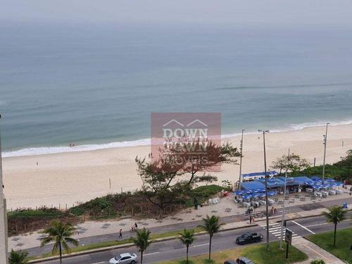Imagem 1 de 21 de Lúcio Costa Barra Palace Posto 3 Apartamento Com 1 Dormitório Por R$ 5.500/mês - Barra Da Tijuca - Rio De Janeiro/rj - Ap0238