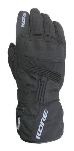 Imagen 1 de 4 de Guantes De Abrigo Kore Para Moto Con Protecciones 1424