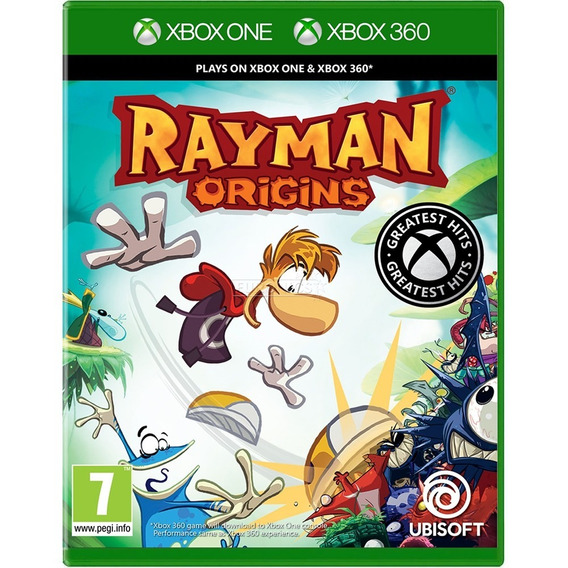 Rayman Origins Xbox One 360 Midia Fisica Novo Dublado Br