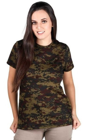 Camiseta Feminina Soldier Argila