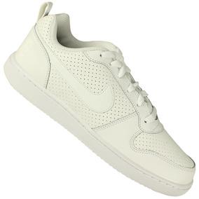 Tênis Branco Casual Nike+ 3 Meias Lupo Original Garantia Nfe