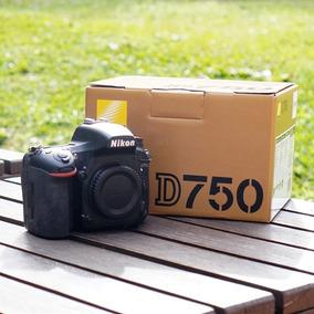 Nikon D750 Usada - Caixa, Carregador, Bateria E Manual