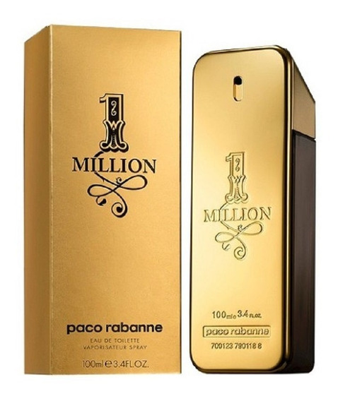 1 Million Paco Rabanne - Eau De Toilette Masculino 100ml