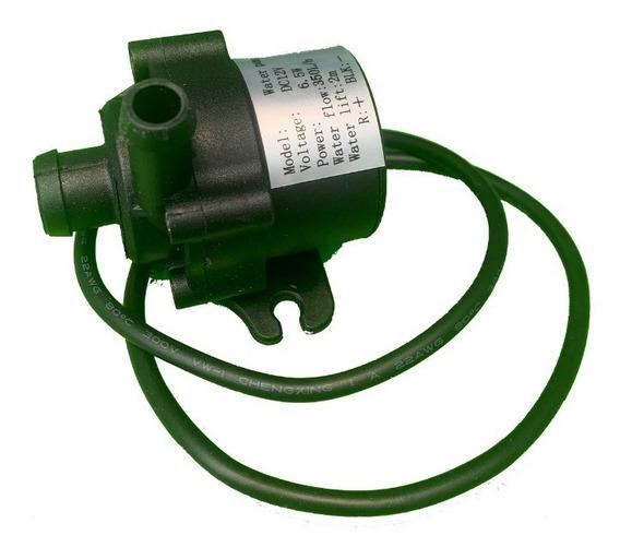 Bomba De Agua Sumergible 12v 2 Metros De Altura Y 350 Litros