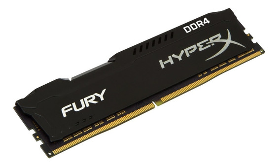 Memoria 16gb Kingston 2666 Mhz Ddr4 Fury Black Fury Dimm Hy