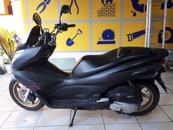 Moto Honda Pcx 2015 Preto