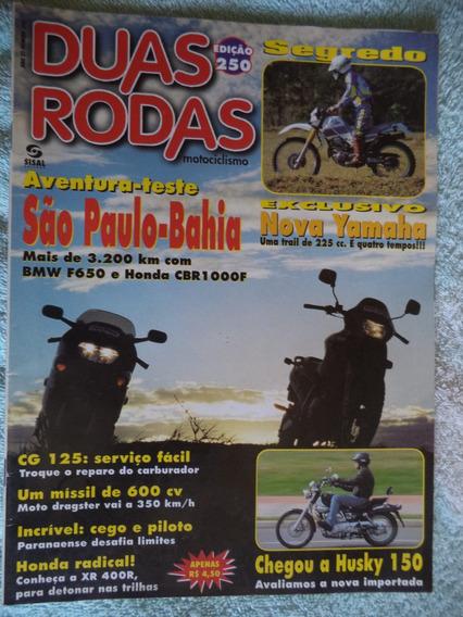 Revista Duas Rodas 250 = Teste Husky 150 + Yamaha Xt 225