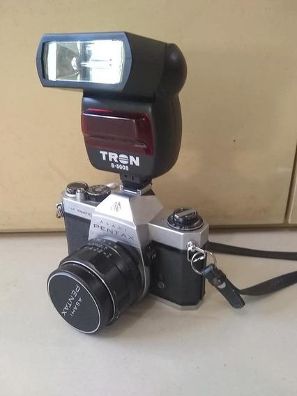 Antiga Máquina Fotográfica Pentax Asahi