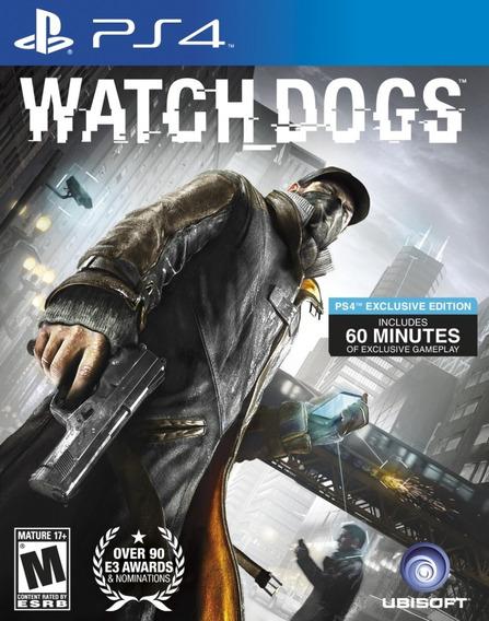 Watch Dogs - Ps4 - Digital