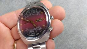 Relógio Orient Automático Mult Year Antigo E Raro Perfeito
