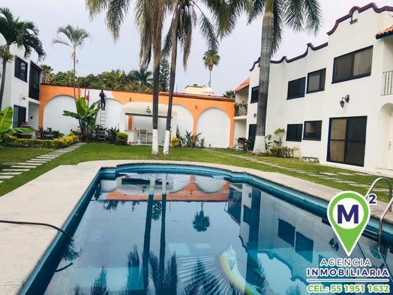 Casa En Condominio En Pedregal De Las Fuentes / Jiutepec - M2ai-319-cd