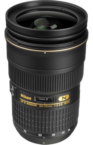 Nikon 24-70mm 2.8 Na Caixa Zerada!