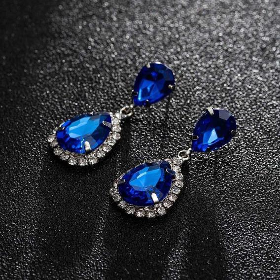 Brinco Azul Royal De Festa