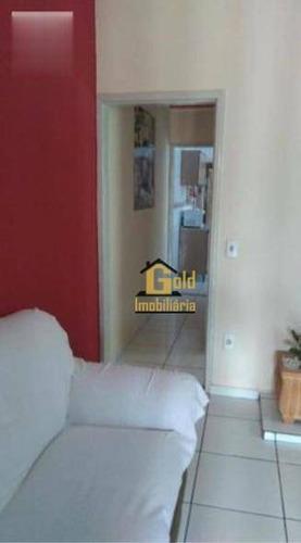 Casa Com 2 Dormitórios À Venda, 125 M² Por R$ 191.000,00 - Jardim Helena - Ribeirão Preto/sp - Ca0815