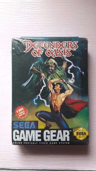 Defender Of Oasis Lacrado - Novo! Nunca Usado Sega Game Gear
