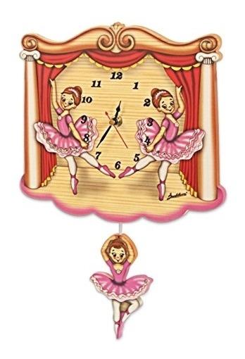 Relógio De Parede Bailarina Bartolucci Itália