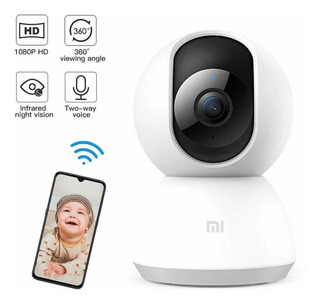 Cámara Domo 1080p Xiaomi Wifi Home Security Camera 360