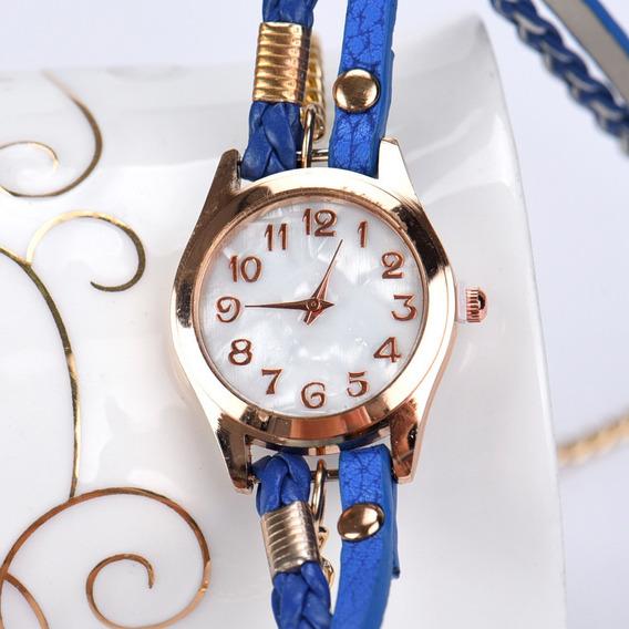 Relógio Feminino Quartzo Pulseira Esporte Elegante De Luxo