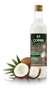 Óleo De Coco Copra Orgânico Extravirgem 250ml