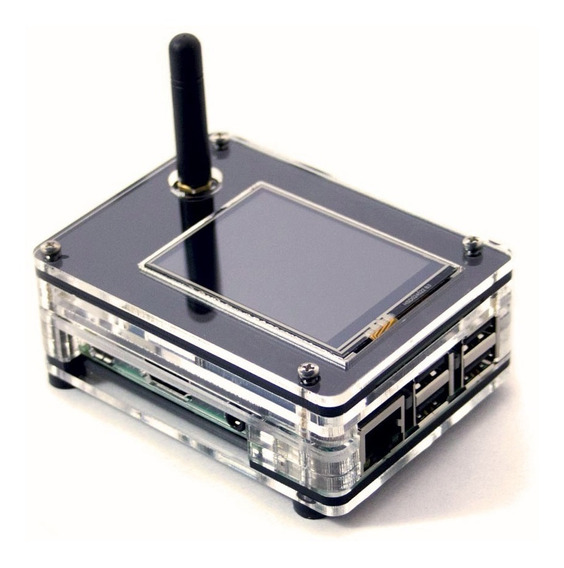 Case Zrpi - 1nsx Nextion Tela Raspberry Pi 3 B