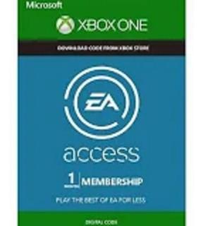 Ea Access 1 Mes En Codigo Para Xbox One