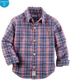Carters Camisa Algodão Bebê Infantil Menino Original