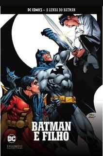 Coleção Hq Graphic Novels A Lenda Do Batman N1