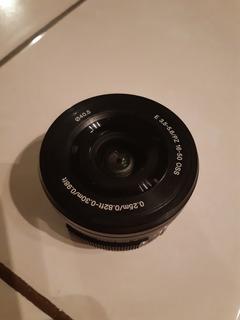 Lente Sony E Pz 16-50 Mm F3,5-5,6 Oss