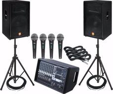 Alquiler De Sonido Desde $100.000 Cualquier Evento En Bogotá
