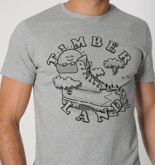 Timberland Playera Para Hombre Mod Tb0a1mji