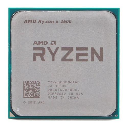 Processador Amd Ryzen 5 2600 3.4ghz Turbo 3.9ghz Cache 16mb
