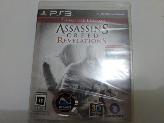 Assassins Creed Revelations Signature Edition -ps3 Lacrado