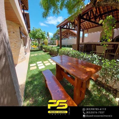 (oportunidade)  Casa Com 3 Dormitórios À Venda Por R$ 600.000 - Amazônia Park - Cabedelo/pb - Ca0878