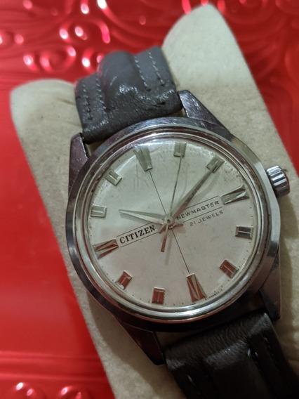Reloj Citzen Newmaster Movimiento Manual Vintage