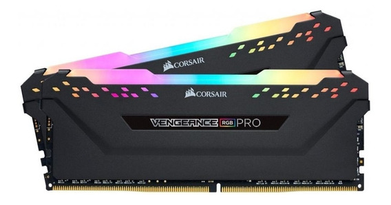 Corsair Vengeance Rgb Pro 16gb (2x8gb) Ddr4 2666mhz Black