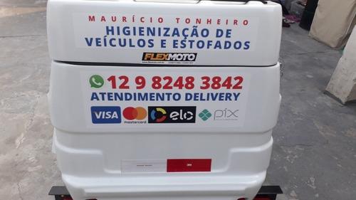 Imagem 1 de 5 de Lavagem Ecológica E Convencional De Veículos Delivery.